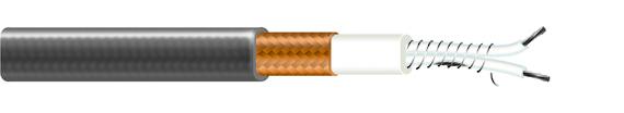 FTC – vykurovací kábel s konštantným výkonom pre vyhrievanie odkvapov